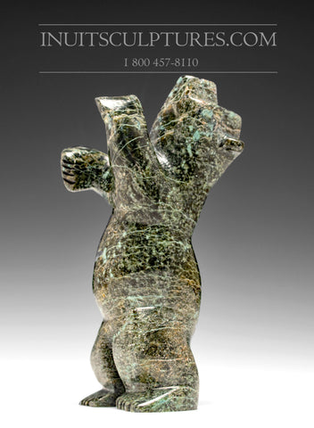 "7"" Speckled Dancing Bear by Allen Namonal"