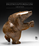"14"" Brown Dancing Bear by Joanie Ragee"