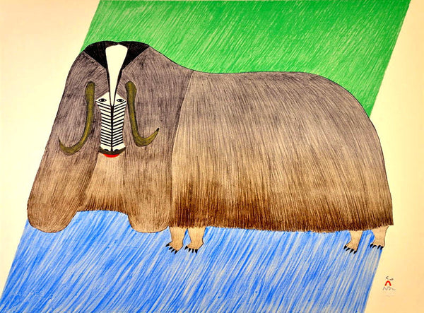 1985 (Released in 2016) FORMIDABLE MUSKOX by Pudlo Pudlat