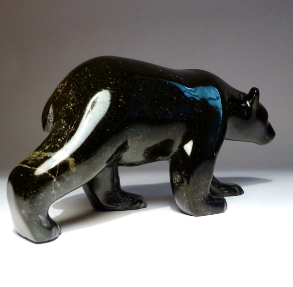 "9"" Black Bear by Henry Evaluardjuk, ca. mid-1980s"