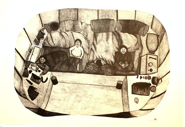2000 INTERIOR VIEW by Napachie Pootoogook