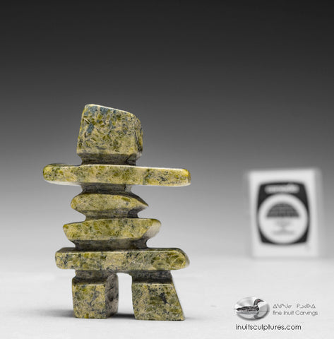 "3.5"" Inukshuk by Matt Tunnillie"