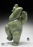 "20"" Voluptuous Dancing Bear by Isaaci Petaulassie"