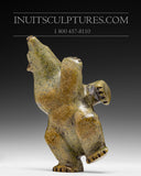 "6"" Dancing Bear by Isaaci Petaulassie"