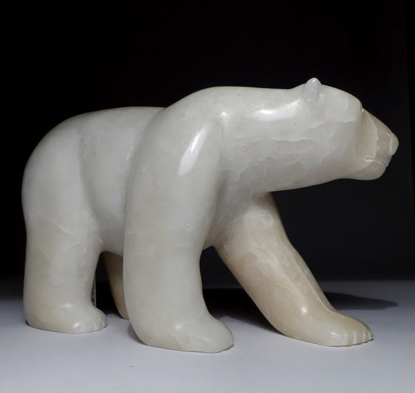 "Beautifully Polished 9"" Scenting Bear by Isaaci Petaulassie"