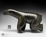 "17"" Walking Bear by Master Jaco Ishulutaq"