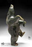 "17"" Emerald Green Dancing Bear by Joanie Ragee"