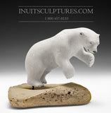 "12"" Polar Bear by Joseph Suqsiaq"