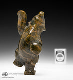 "5"" Dancing Bear by Markosie Papigatook"