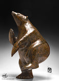 "16"" Brown Gorgeous Dancing Bear by Nuna Parr"