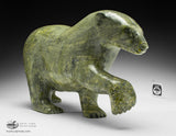 "Classic Green 19"" Walking Bear by Nuna Parr"
