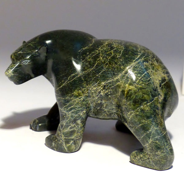"4.5"" Walking bear by Jimmy Petaulassie"