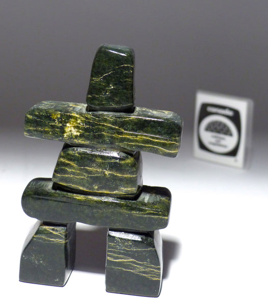 "4"" Inukshuk by Johnny Lee Judea"