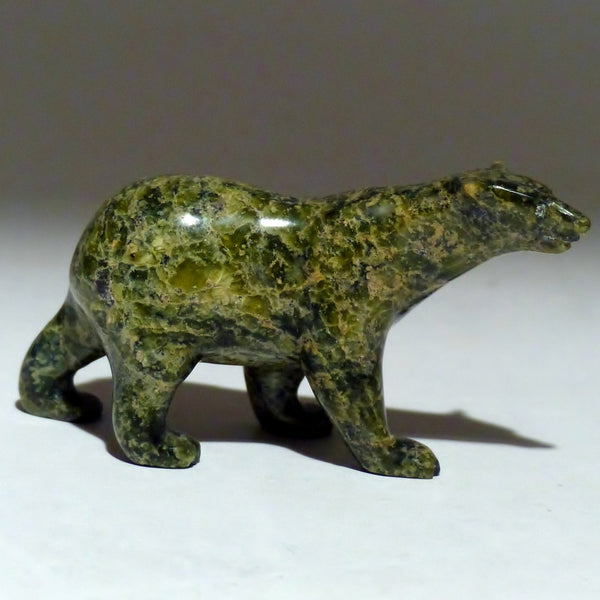 "3"" Green Walking Bear by Tim Pee"
