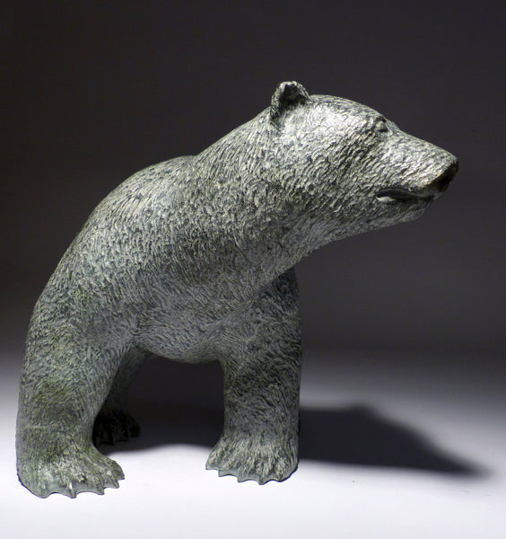 "13"" Prowling Bear by World Famous Jarloo A."