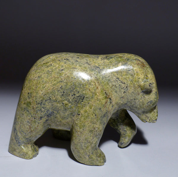 "6.25"" Walking Bear by Late Peter Parr (1970-2012)"