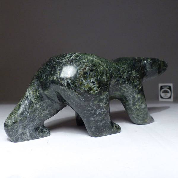 "8"" Walking Bear by Allan Sheutiapik"
