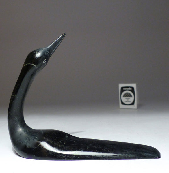 "6"" Graceful Loon by Ning Ashoona"