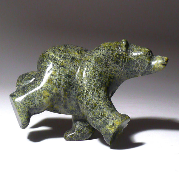 "4"" Diving & Dancing Bear by Zacharie Ragee"