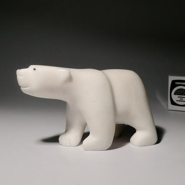 "4.75"" Bear by Tutuiya Tunnillie"