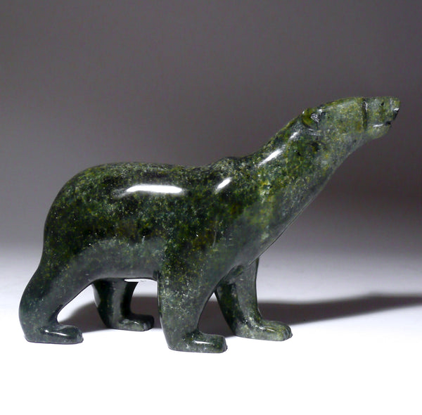 "5"" Green Walking Bear by Tim Pee"