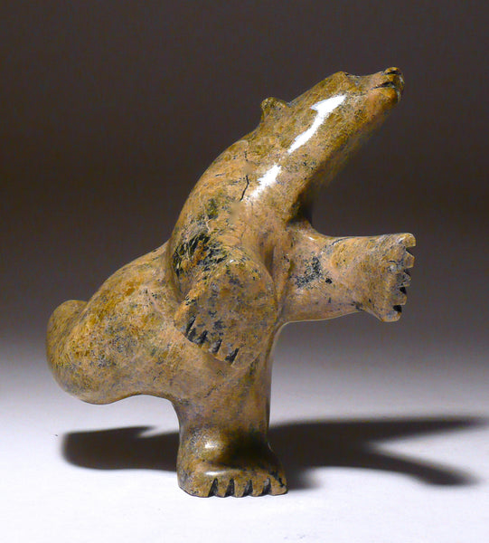 "4"" Dancing Bear by Joanie Ragee"