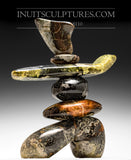 "20"" Masterful Inukshuk by Paul Bruneau"