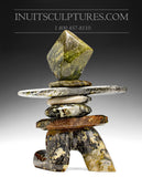 "13"" Animated Inukshuk by Paul Bruneau"