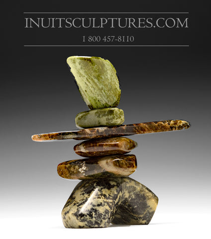 "7"" Exquisite Inukshuk by Paul Bruneau"