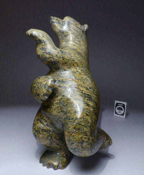 "9"" Brown Speckled Bear by Late Peter Parr (1970-2012)"