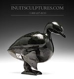 "RESERVED** 8"" Dark Dancing Goose by Pudlalik Shaa"