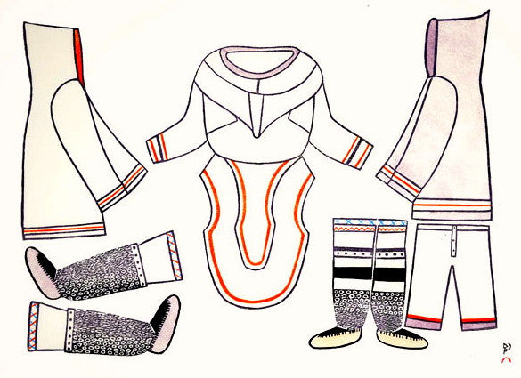 1981 THE CLOTHING I MAKE by Kakulu Saggiaktok