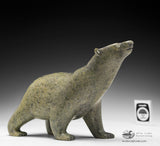 "8.5"" Pale Green Walking Bear by Tim Pee"