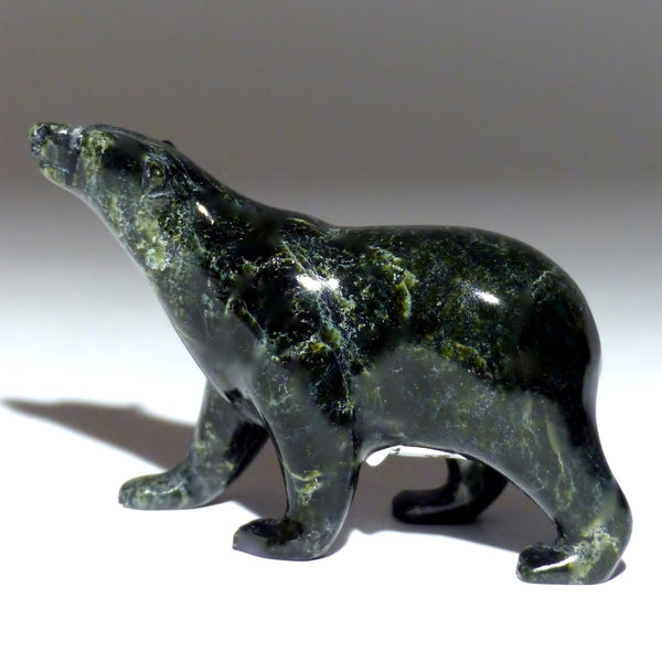 "3.75"" Black Walking Bear by Tim Pee"