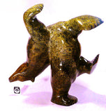 "17"", 57 lbs Brown Dancing Bear by Nuna Parr"
