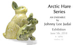 Arctic Hare Friends by Johnnee Lee Judea