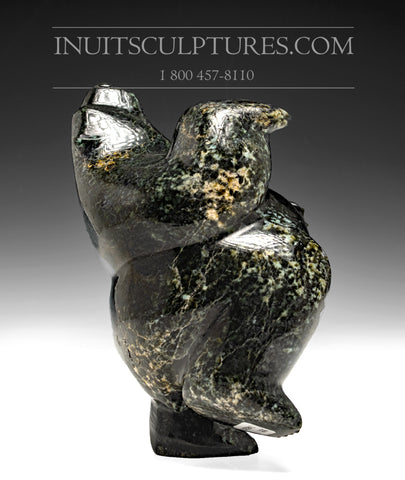 "8"" Two Way Chubby Dancing Bear by Isaaci Petaulassie"