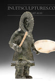 "8"" Inuk Drum Dancer by Master Carver Derrald Taylor"