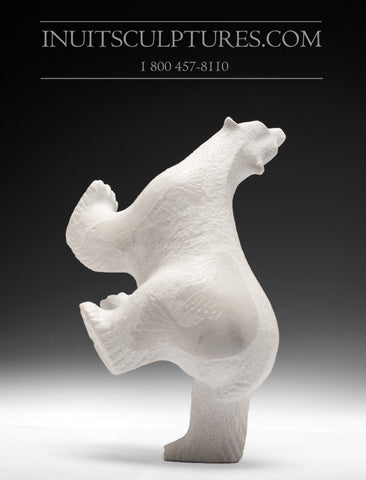 "RESERVED** 9.5"" Four Way Dancing Bear by Esau Kripanik"