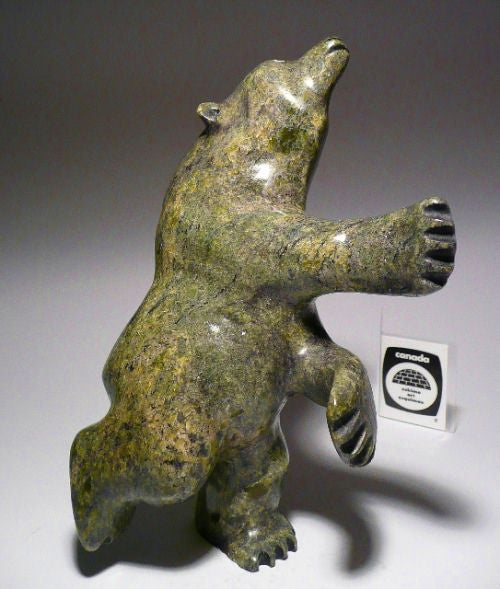 "7.25"" Dancing Bear by Moe Petooloosie"