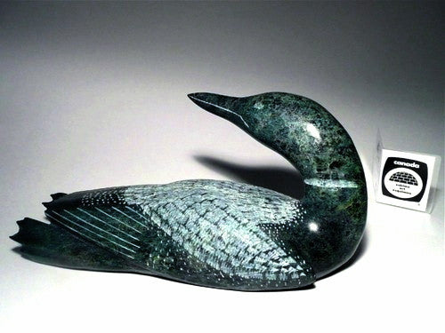 "9"" Loon by Etulu Etidloie"