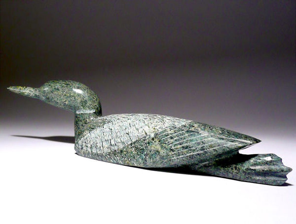 "11.5"" Light Green Loon by Etulu Etidloi"
