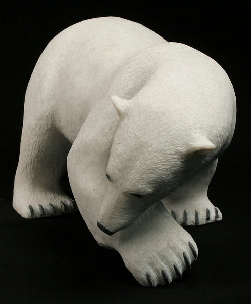 "16"" Walking Bear by World Famous Paul Quviq Malliki"