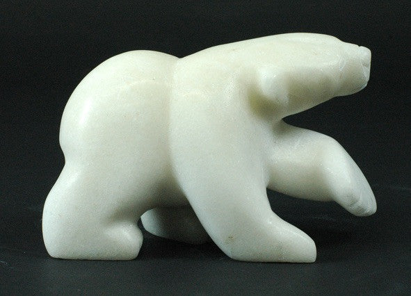 "4"" Walking Bear by Alasuaq Sharky"
