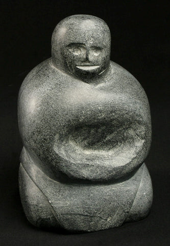 "7"" Mother by Famous Inuit Art Pioneer Tuna Iqulik, 1998"