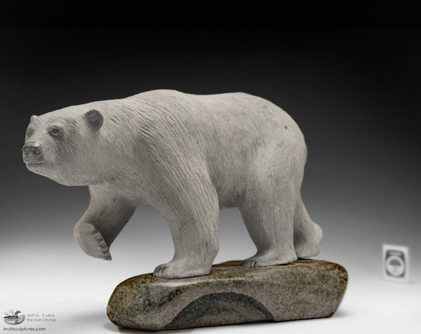 "15"" Masterpiece Bear by Inuk Charlie"