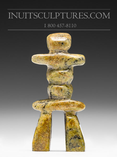 "4"" Light Inukshuk by Ning Shaa"