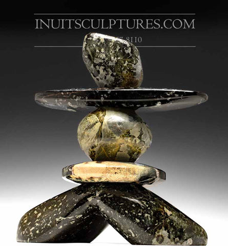 "16"" Animated Inukshuk by Paul Bruneau"