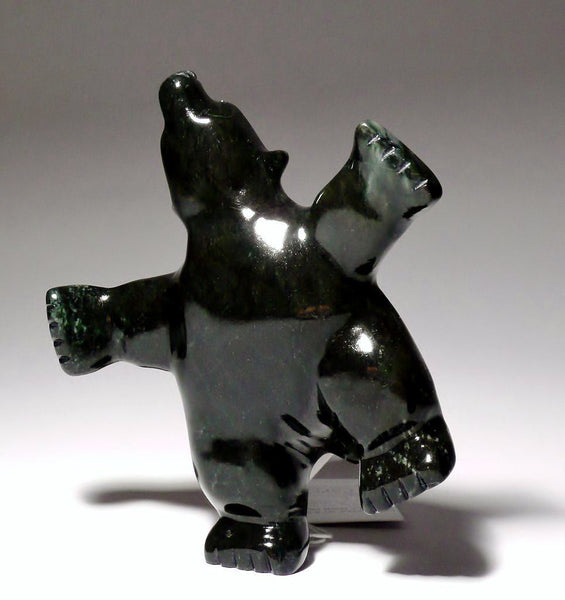 "4.75"" Dancing Bear by Johnny Papigatook"