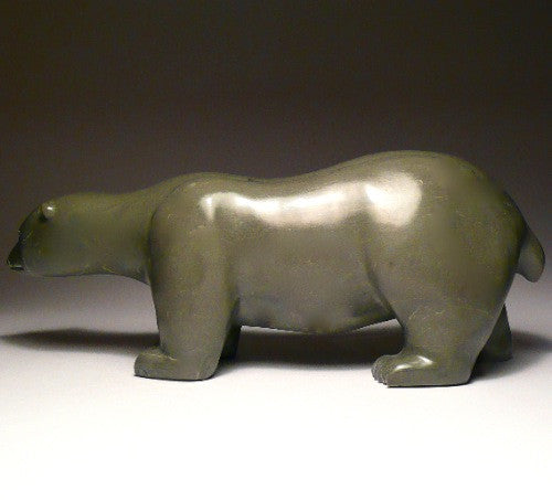 "12"" Walking Bear by Josie Iqaluq"